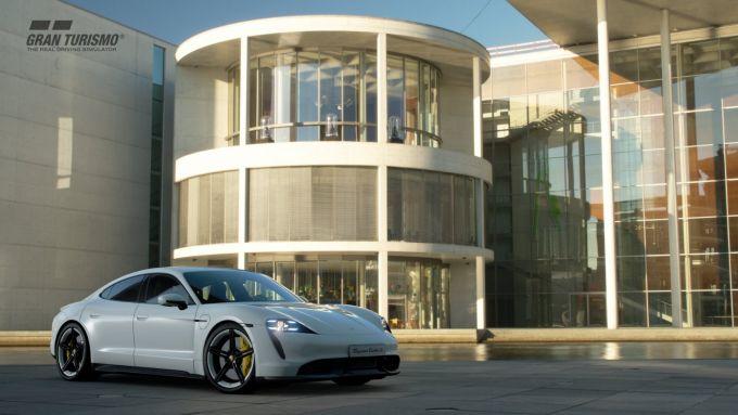 Sony Gran Turismo Sport, le prime immagini della Porsche Taycan S - 4