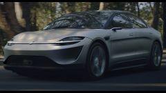 Sony Vision-S Concept, berlina elettrica da 270 CV al CES 2020