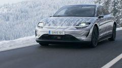 Sony Vision-S, l'auto elettrica è già in strada per i test