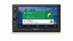 Sony XAV-AX100: per lui possibilità di utilizzare Apple CarPlay e Android Auto