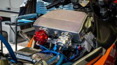Sotto il serbatoio della Suzuki Hayabusa Turbo da record di velocità