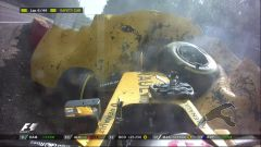 Spa-Francorchamps - l'incidente di Kevin Magnussen dell'edizione 2016