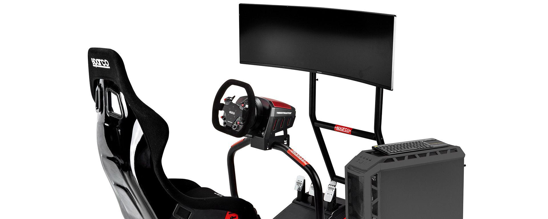 Sparco Sim RIG II, set completo per le corse