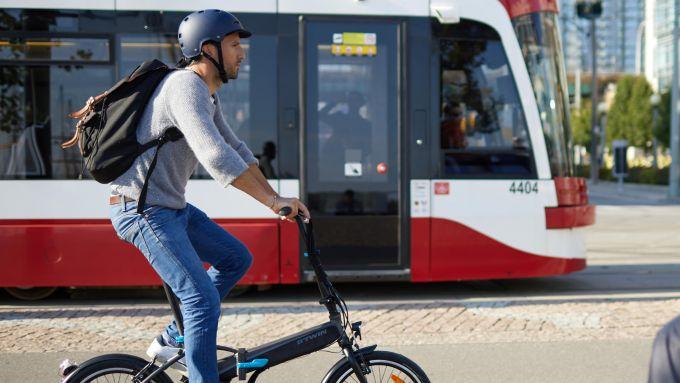 Speciale e-bike: una foldable nel traffico