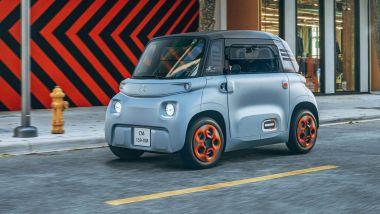 Speciale microcar elettriche 2021: Citroen Ami