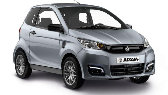 Speciale microcar elettriche 2021: e-Aixam City