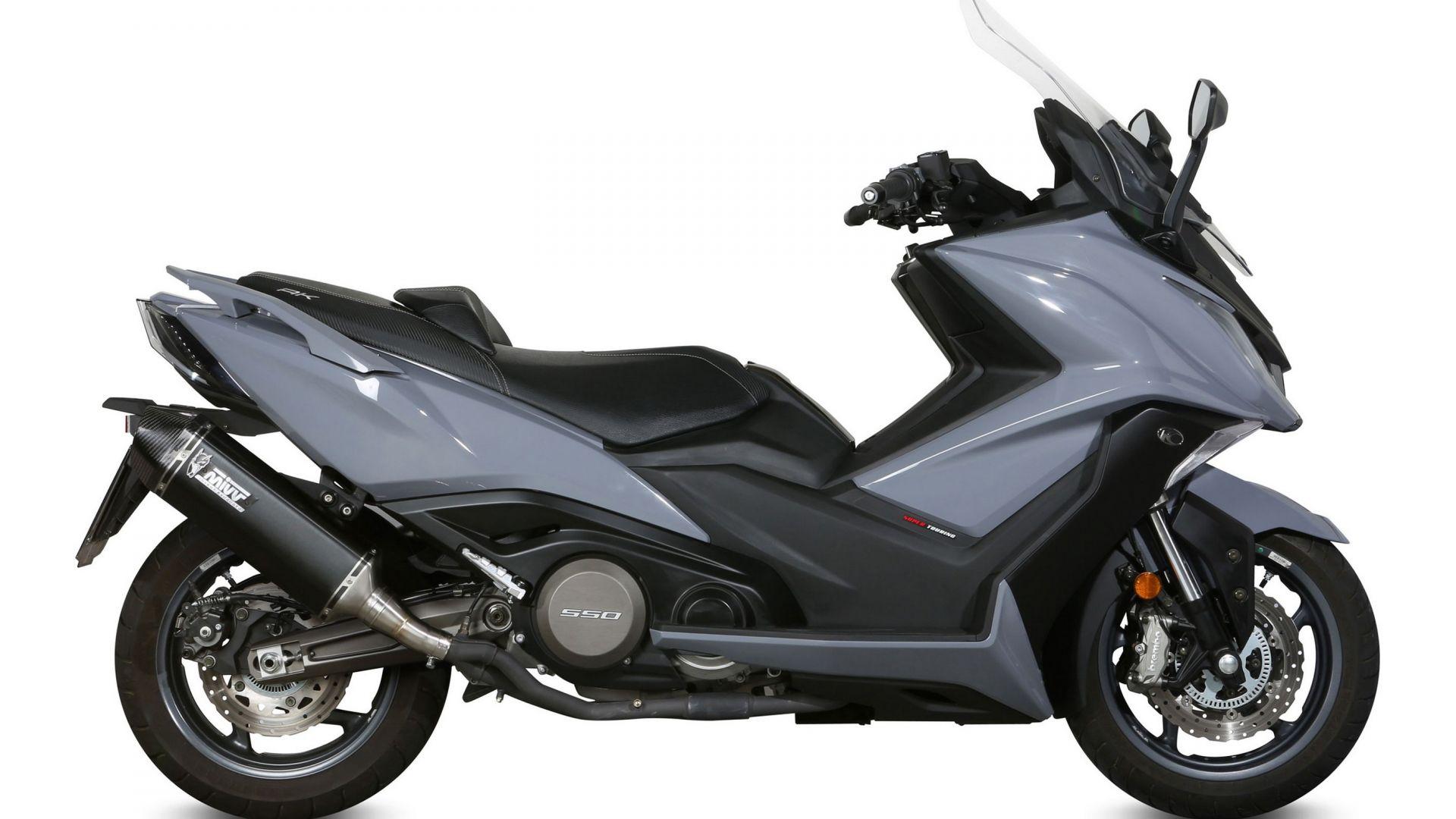 Mivv Terminali Di Scarico Per Yamaha T Max 530 E Kymco Ak