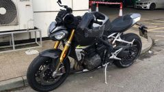 Speed Triple RS 2021, le foto spia