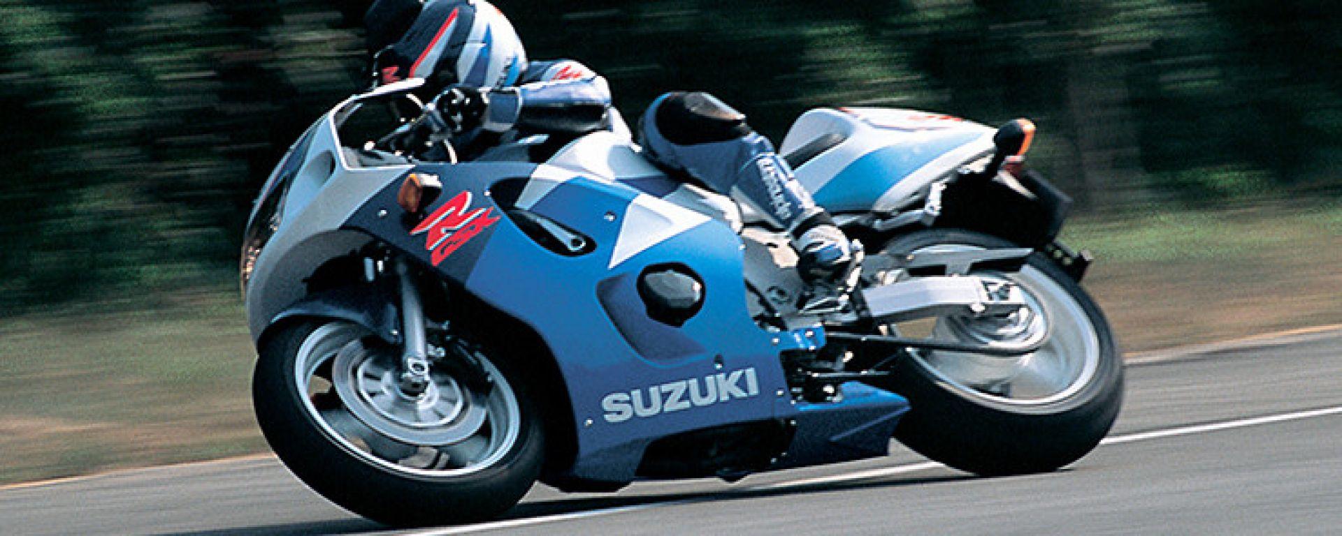 Sportiva al prezzo di uno scooter: Suzuki GSX-R 600 SRAD 1997