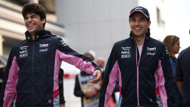 SportPesa Racing Point 2019, Sergio Perez vs Lance Stroll