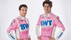 SportPesa Racing Point RP20, Lance Stroll e Sergio Perez