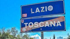 Spostamenti verso il Lazio vietati a chi presenta febbre
