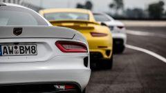 Video: Viper vs 911 Turbo vs F-Type R - Immagine: 1
