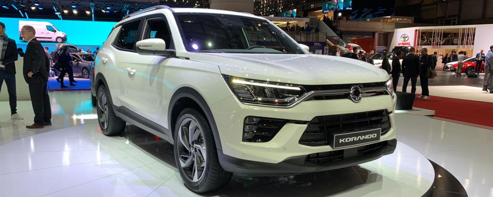 Ssangyong Korando 2019: a Ginevra sfida la Nissan Qashqai