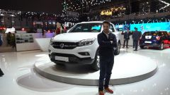SsangYong Musso 2018 pick up: in video dal Salone di Ginevra - Immagine: 1