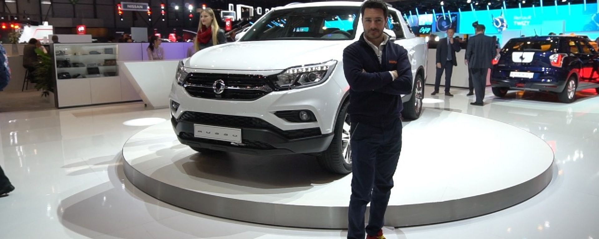 SsangYong Musso 2018 pick up: in video dal Salone di Ginevra