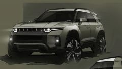 SsangYong progetto J100: frontale