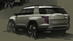 SsangYong progetto J100: posteriore