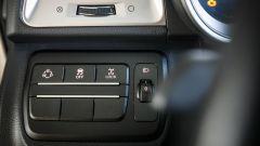 SsangYong Tivoli: a sinistra il tasto per selezionare la modalità di guida più adatta