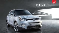Ssangyong Tivoli, nuove foto - Immagine: 1