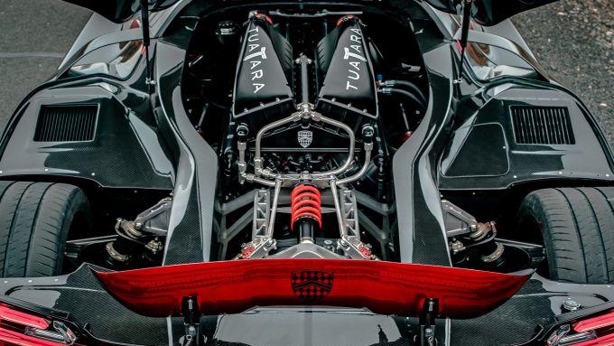 SSC Tuatara: il motore