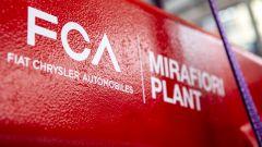 Stabilimento FCA di Mirafiori, il logo