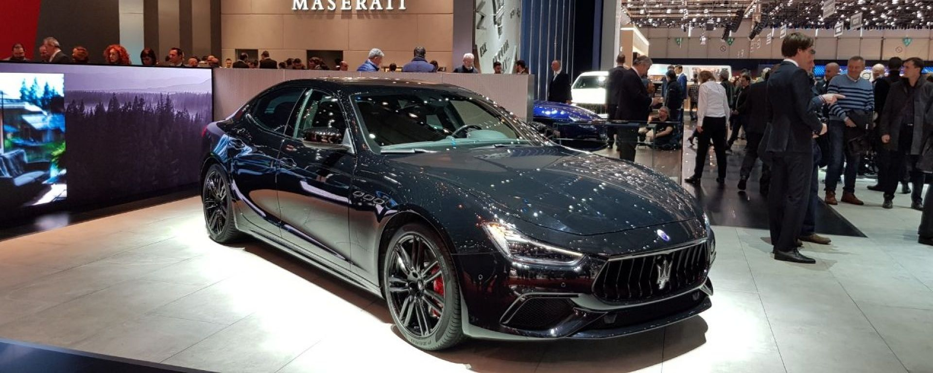 Stand Maserati, live Salone di Ginevra 2018