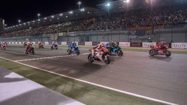 Start MotoGP 2019 Qatar Losail