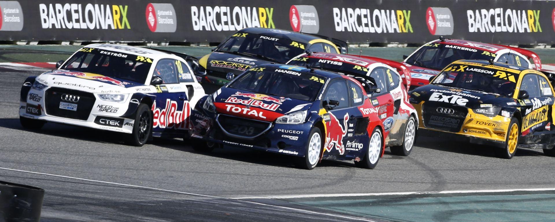 Rallycross 2016 - Barcellona: Ekstrom re di Spagna