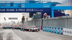 Starting Grid ePrix Roma 2018