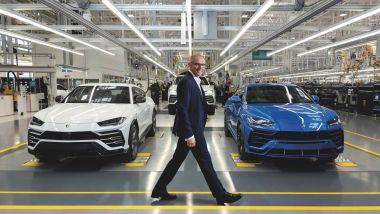 Stefano Domenicali, CEO di Automobili Lamborghini