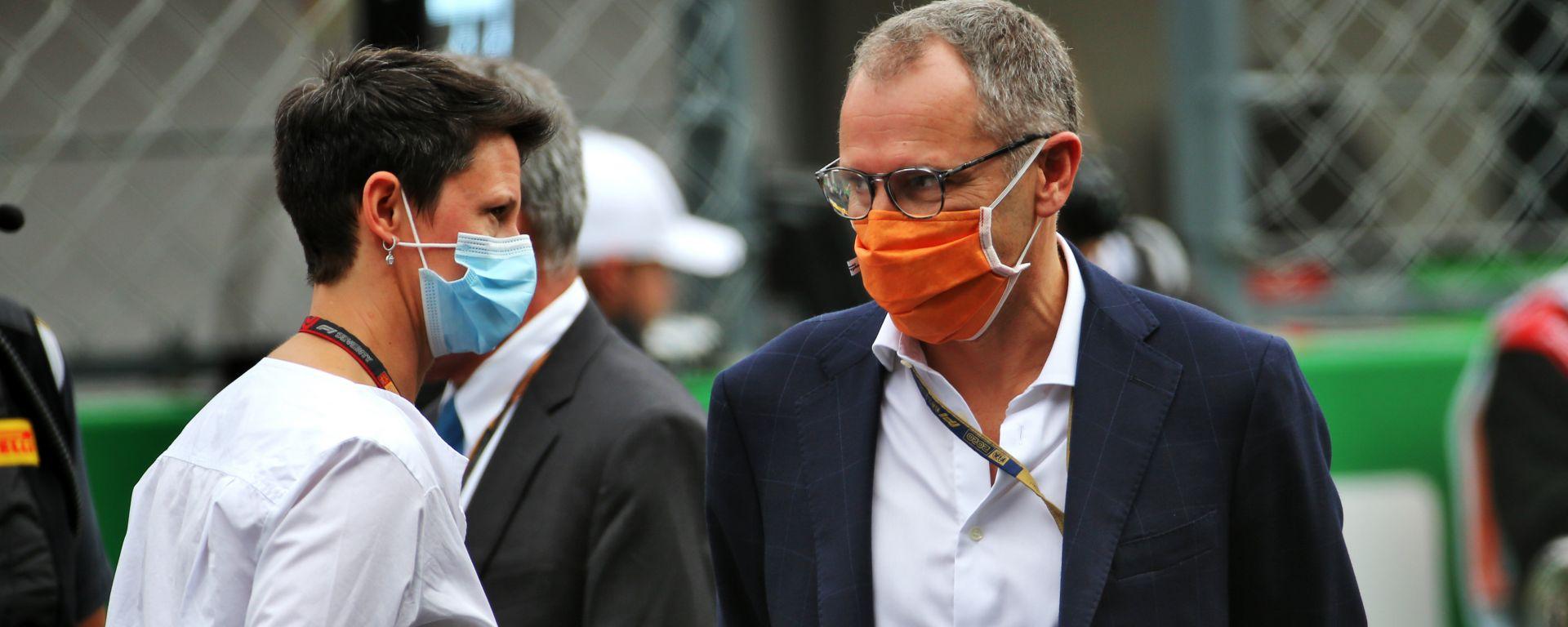 Stefano Domenicali (CEO Formula 1) al GP Portogallo 2020
