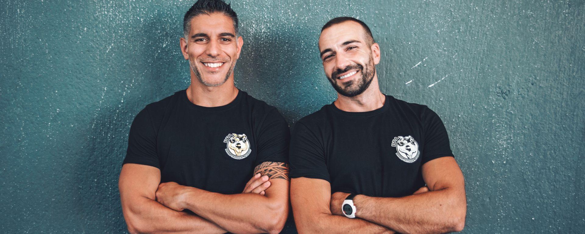 Stefano Ledda e Maurizio Madaffari di Bikers Physique Academy