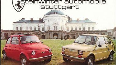 Steinwinter 250 (Fiat 500) e Steinwinter 250L (Fiat 126)