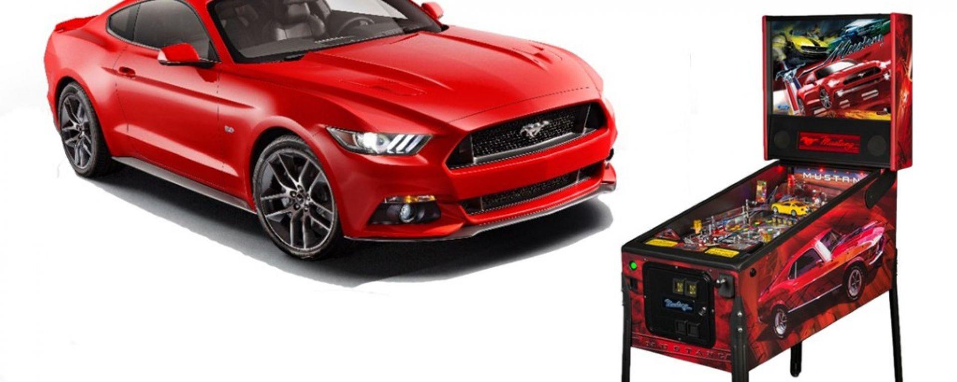 Stern Pinball: un flipper per la Mustang