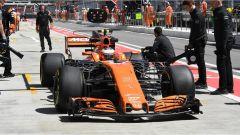 Stoffel Vandoorne e la sua MCL32 McLaren - F1 GP Russia 2017
