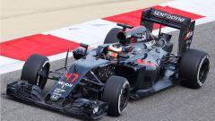 Stoffel Vandoorne - esordio con la McLaren-Honda MP4/31 in Bahrain (2016)