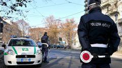 Stop al traffico nella città di Milano