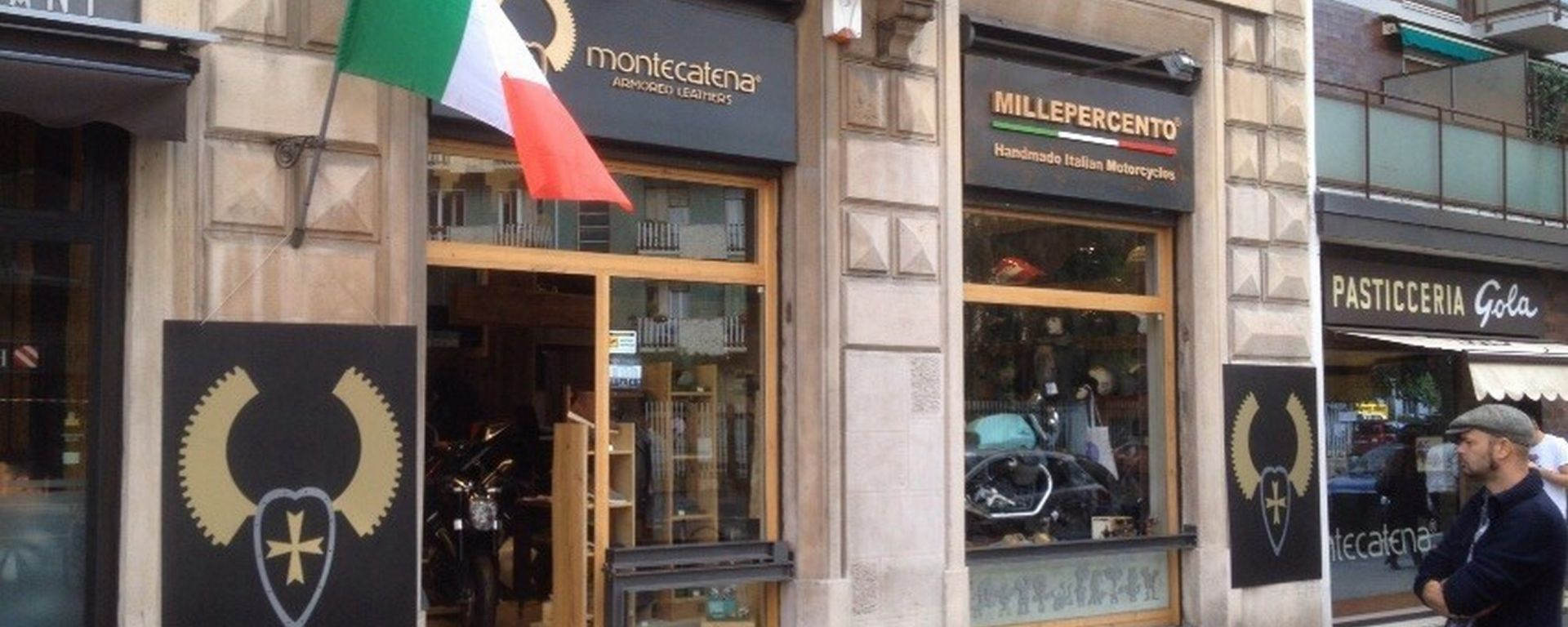 Montecatena: apre a Milano il primo store moto-fashion
