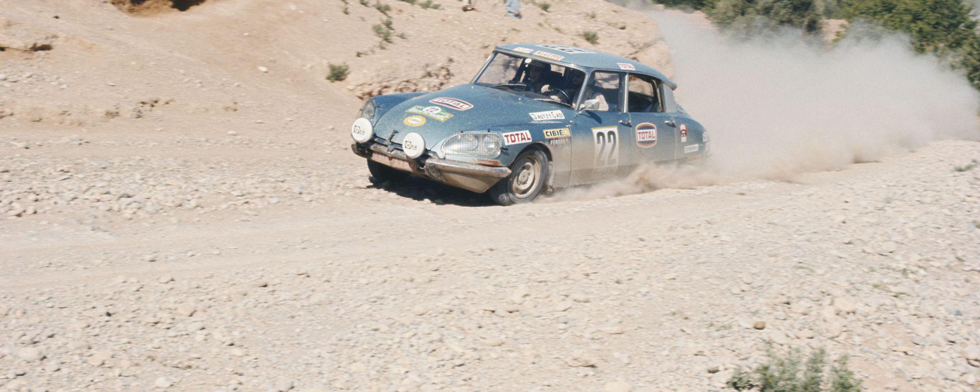 Storia rally: la Citroen DS tra gli anni 60 e 70 nel Rally del Marocco