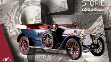 Storie Alfa Romeo: la prima puntata dedicata a 24 HP