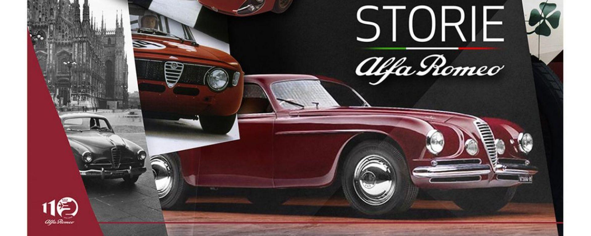 Storie Alfa Romeo: racconti memorabili per i 110 anni del marchio