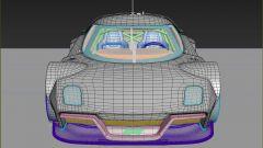 Stratus 2025 by ColorSponge, vista frontale in CAD