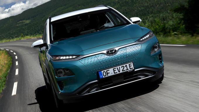Studio Castrol sulle EV: una Hyundai Kona electric