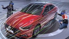 Studio dell'aerodinamica in realtà virtuale