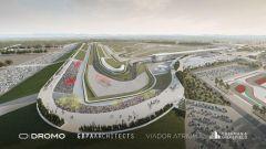 Studio Dromo di Jarno Zaffelli, progetto per il nuovo tracciato del GP Ungheria MotoGP