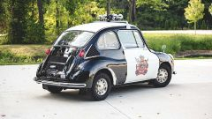 Subaru 360 police car all'asta: posteriore