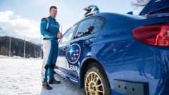 Subaru: al volante c'è Mark Higgins (lo stuntman di Daniel Craig nelle scene di guida di James Bond)