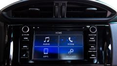 Subaru BRZ 2017: il display touch dell'infotainment