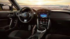 Subaru BRZ: al centro della plancia il monitor da 6,2